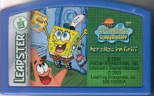Spiel für Leapster Leapfrog Spongebob Schwammkopf hat alles im Griff