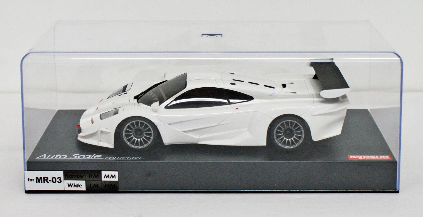 Kyosho MZP237W ASC ASC ASC MR03RWD McLaren F1 GTR White aee143
