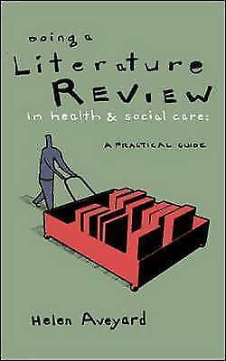 Doing a Literature Review in Health and Social Care-ExLibrary