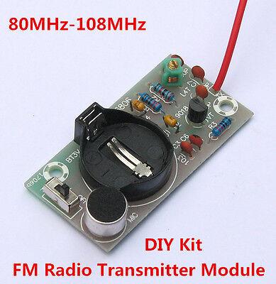 80~108MHz FM Radio Transmitter Module DIY for Wireless Microphone Radio Station