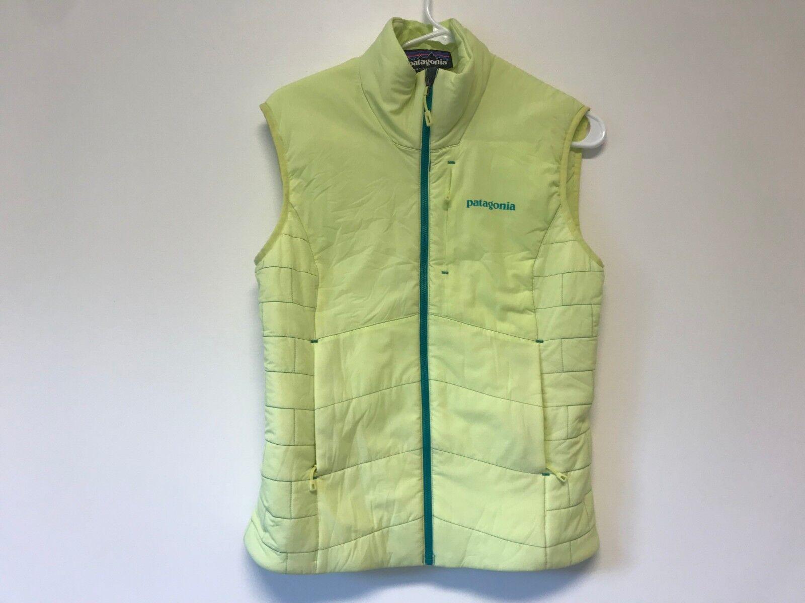 Patagonia Women's Nano Air Vest Neon Yellow