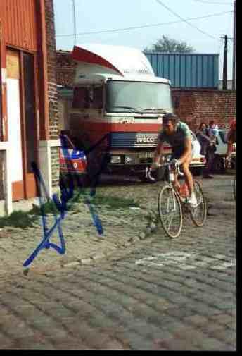 ALLAN PEIPER PARIS ROUBAIX 91 Signed Autographe ciclismo cycling signé cyclisme ciclismo Autographe 77e197