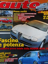 AUTO n°11 2000 - Tutti i pazzi per Supercar Cadamuro Fiat Punto HGT   [Q199A]