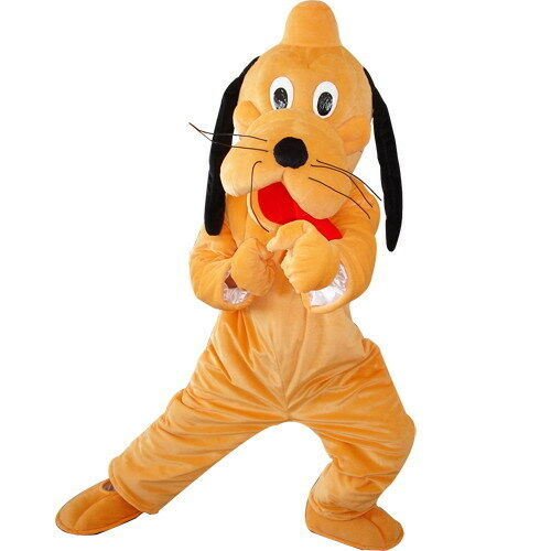 Pluto Dog Plush Mascot Costume Suit Cosplay Halloween Party Dress Adults Size
