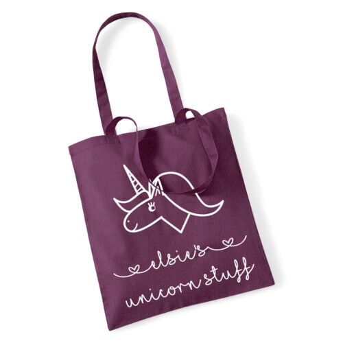 PERSONALISED UNICORN BAG FOR GIRLSBag Christmas Gift Birthday Girls