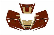 MILLER IRON MAN PRO HOBBY classic  DIGITAL WELDING HELMET 256166 DECAL STICKER
