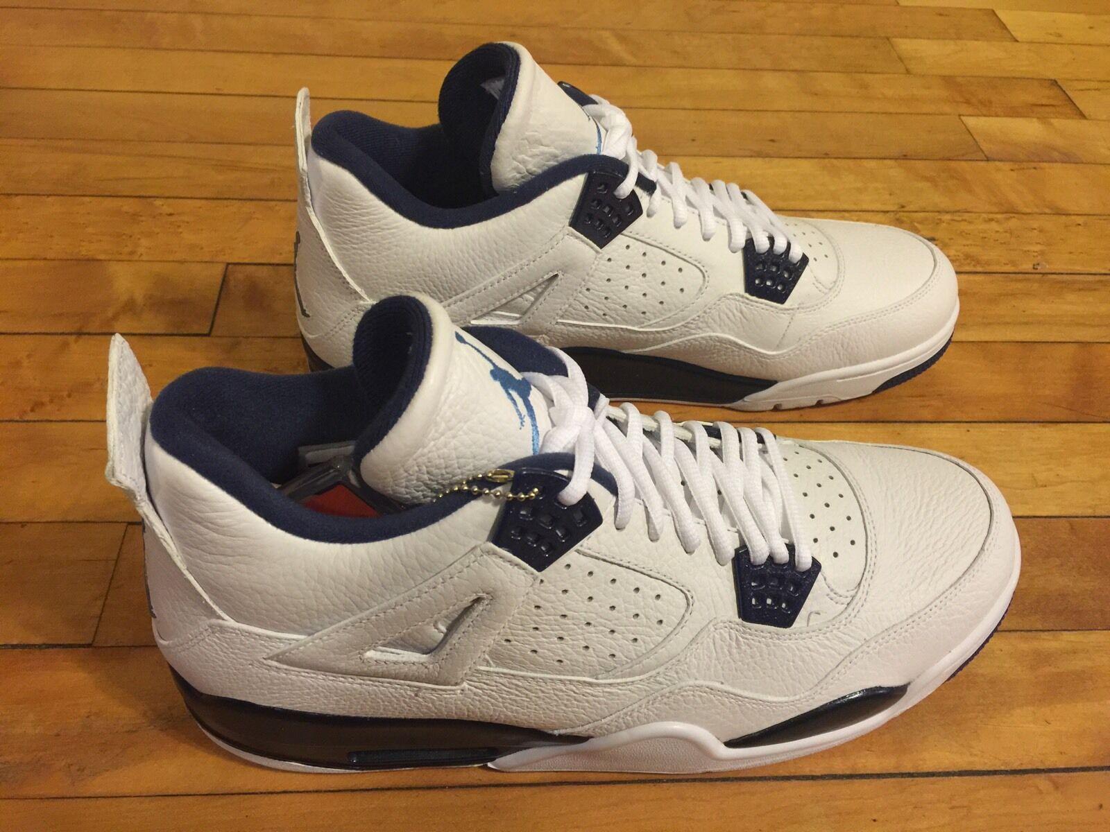 Nike Air Jordan 4 retro LS Columbia reducción de precios descuentos estacionales de recortes de precios, beneficios de descuentos precios 79b77f