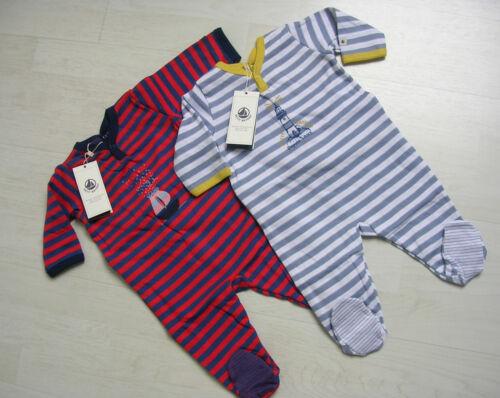 Body//combinaison//pyjama de petit bateau en bleu//rouge ou gris//blanc NOUVEAU!!!