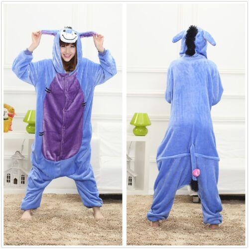 Unisex Adult Pajamas  Fancy Cosplay Costume Animal Sleepwear