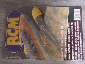 $$$ Revue Rcm N°150 Plan Encarte Hawker Hunter Pssme Bf 110cap 21focus 6