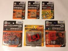 TOMY/TOMICA Bit Char-G Nissan Skyline RED GT-R R32 Pull Back Body/Plus Extras!