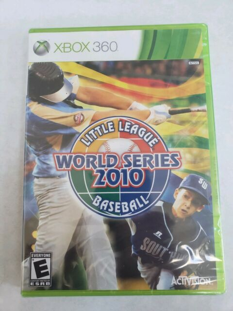 Little League World Series 2010 Xbox 360, New Xbox 360, Xbox 360 factory sealed