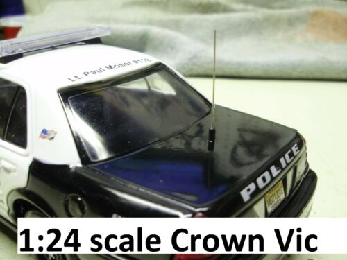 20 Antennas for Custom Police Diecast 1:24 18 32 43 scale cars Welly Motormax