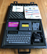 Brother P Touch Xl Professional Labeling System Pt 8000 Case