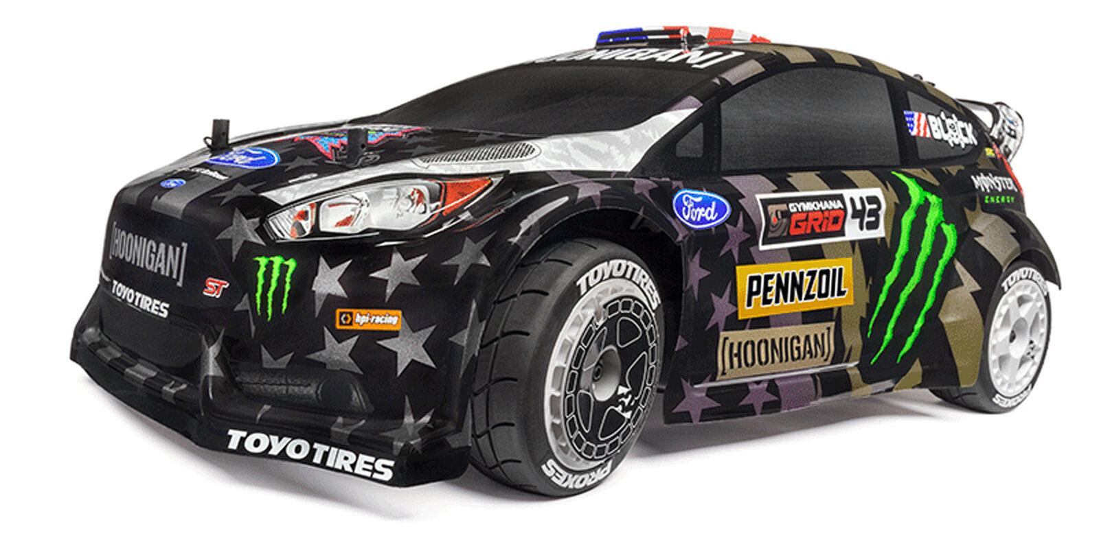 Wr8 Nitro Ken Block Gymkhana Ford Fiesta St Rx43 Rtr 1 8 4wd Rally Car Hpi120037 For Sale Online Ebay
