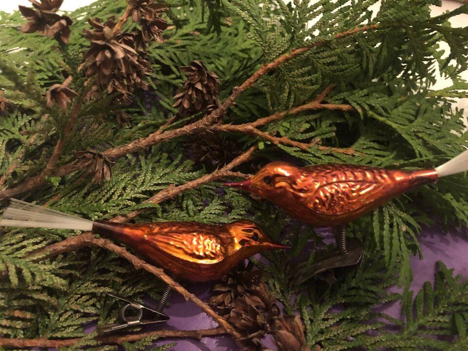 Fugle til juletræet
