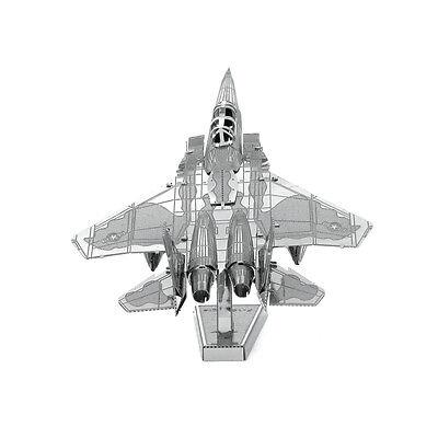 Fascinations Metal Earth 3D Laser Cut Steel Model Kit F22 F-22 Raptor Aircraft