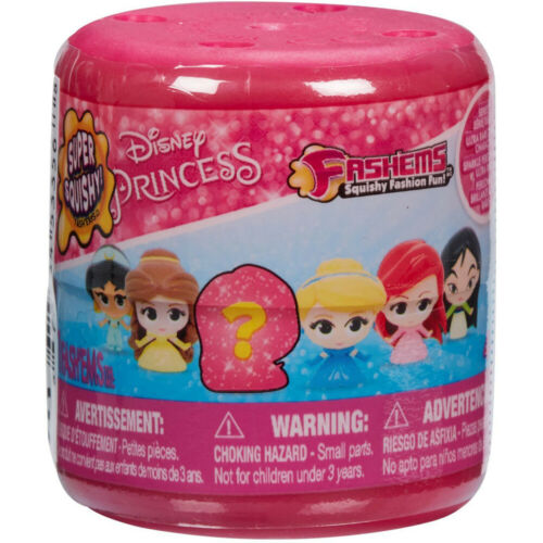 Disney Princess Fash/'ems Collectable Squishy Mini Figure in a Blind Capsule
