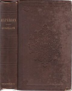 1855-Antique-Hyperion-Longfellow-Fine-Letterpress-Edition-Illustrated-Bookplate