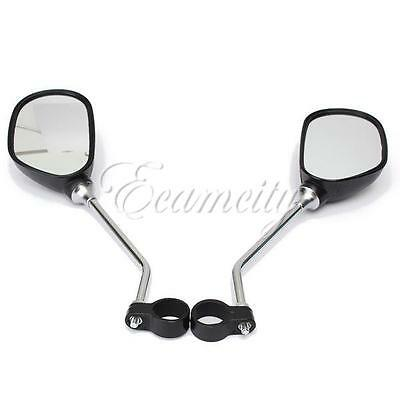 2X Bicycle Mobility Scooter Handlebar Mirror Glass 3D Mountain Road Bike PRO