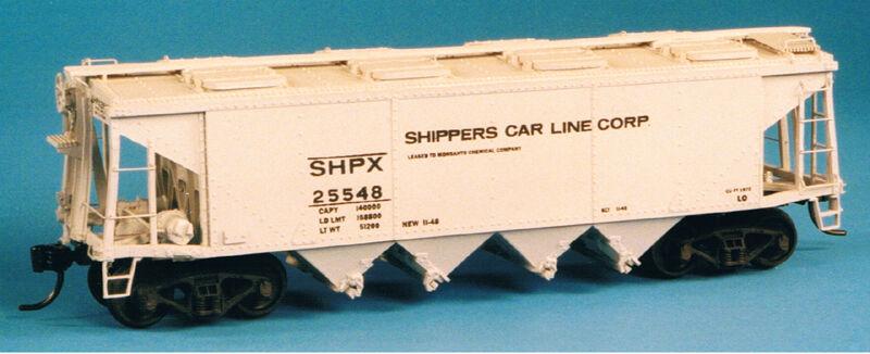 Funaro F&C 6880  SHIPPERS CAR LINE Phosphate Covered Hopper Fertilizer  Flat Kit