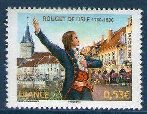TIMBRE-3939-NEUF-XX-LUXE-ROUGET-DE-LISLE-LA-MARSEILLAISE-PAR-ISIDORE-PILS
