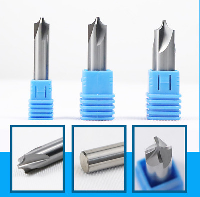 2Pcs D6mm*R0.5MM Lengthen 4Flute Carbide ARC end milling cutter GM-4RL-D6.0R0.5