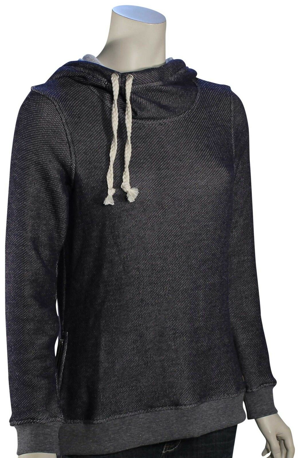 Roxy Sharing Song Solid Hoody - Eclipse - New