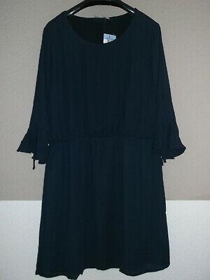 Neues Hübsches Damen Kleid Dunkelblau Festlich in Gr. L 44 ...