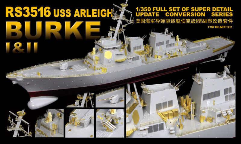 LionRoar Fotoetsade detaljer 1  350 USS ARLEIGH BURKE I &II