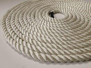 12mm-corda-di-nylon-bianca-3-Strand-Disponibile-dal-metro