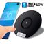 thumbnail 12 - Cargador Inalambrico Para iPhone Samsung Galaxy S20 S10 S9 S8 Note Qi Wireless
