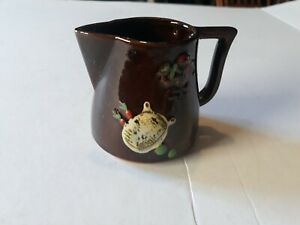 Vintage Del Coronado Brown Measuring Pitcher Nasco Japan