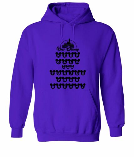 Disney Keep Calm and Pursue Your Dreams Hooded Sweater Jacket Pullover Hoodie