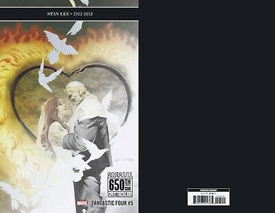 Marvel Comics Fantastic Four #5 Variant 650th Stan Lee Tribute Wedding NEW