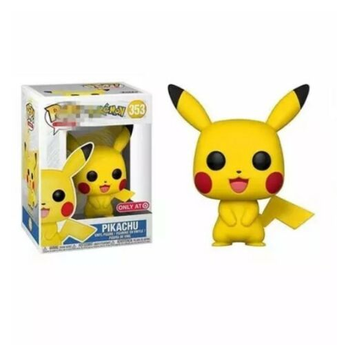Funko Pop Pikachu Vinyl Figure Pokemon Animation