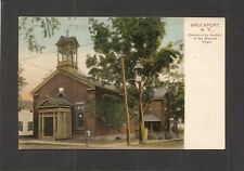 POSTCARD:  CHURCH OF THE NATIVITY OF THE BLESSED VIRGIN - BROCKPORT, NEW YORK