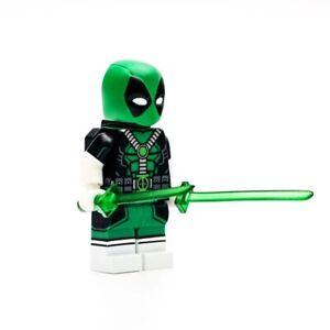 ⎡GENE⎦CUSTOM Zaku II Green Lego Minifigure