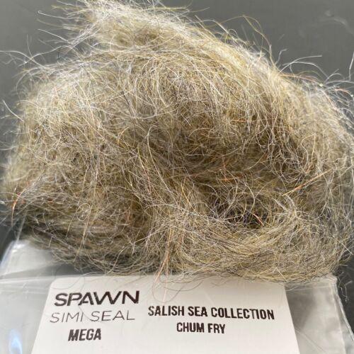 Spawn Simi Seal Mega Dubbing Chum Fry Fly Tying materials BWCflies