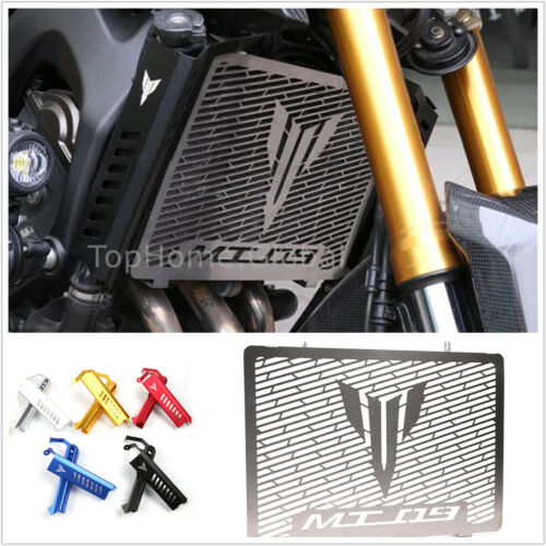 For Yamaha MT09 FZ09 2014-2016 Radiator Grille Guard Protector /& Side Covers 15