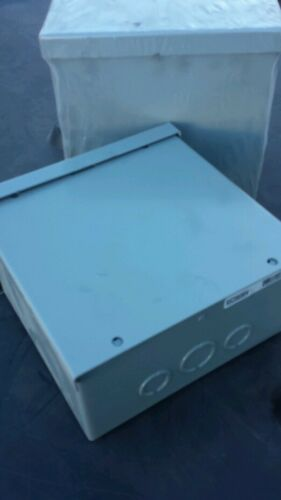 LOT OF 2 NEW ELECTRICAL JUNCTION BOXS 8x8x4