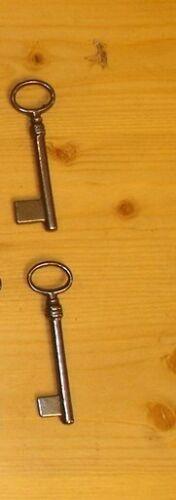 Schlüssel Länge 85 mm 10 Stück Schlüsselrohlinge
