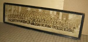 1928-SUSQUEHANNA-PA-UNIVERSITY-Graduating-Class-8-034-x-32-034-Panoramic-Sepia-Photo