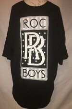 New Rocawear Big and Tall Logo T Shirt 4XL 4XB 4X Black Silver NEW STYLE
