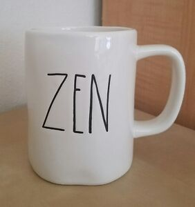 NEW-RAE-DUNN-BY-MAGENTA-ZEN-MUG-Meditation-Yoga-Winter-Farmhouse-Home-Decor