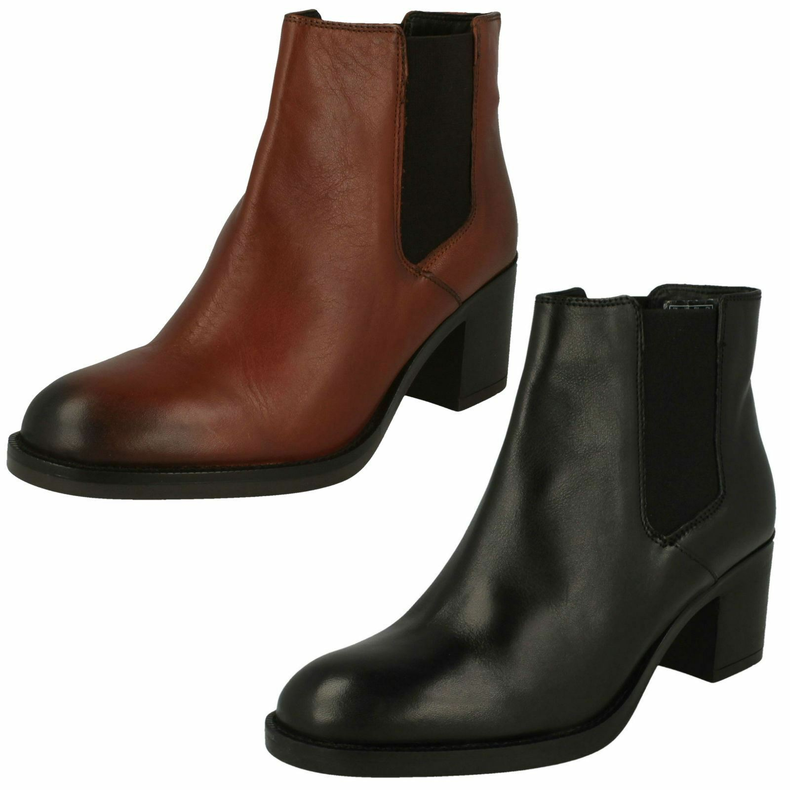 Ladies Clarks Ankle Boots - Mascarpone Bay