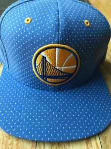 0d7ff2bf373eb Image is loading NWOT-Golden-State-Warriors-Mitchell-amp-Ness-Snapback-
