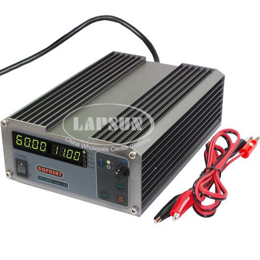 DC 60V 11A Precision PFC Compact Adjustable Power Supply 0.01V/0.01A 6011 AC