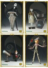 Nightmare Before Christmas Active Label Figures Series 1 Set of 4 Jack Sallly