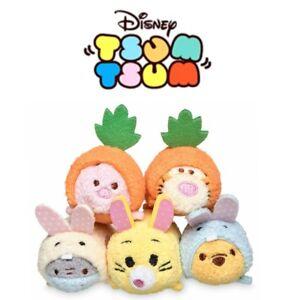 e66e9a1e7ecdd Disney Winnie the Pooh Eeyore Piglet Tigger Rabbit Set 5 Micro Tsum ...
